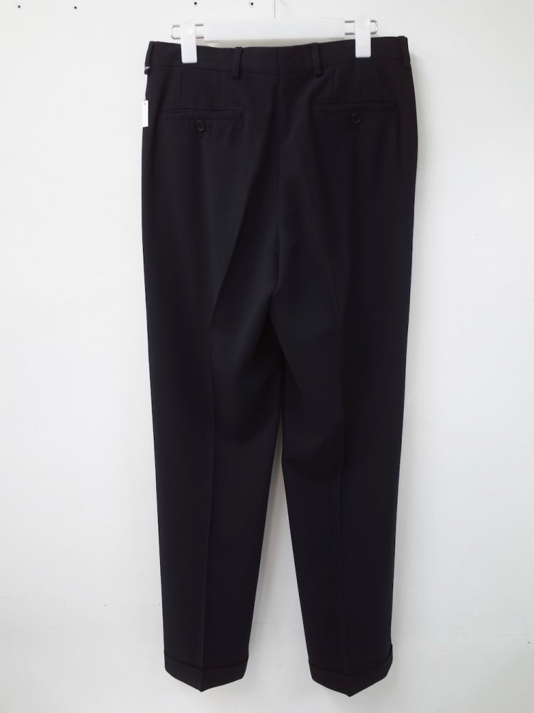 EMPORIO ARMANI ウールスラックスパンツ MADE IN ITALY USED