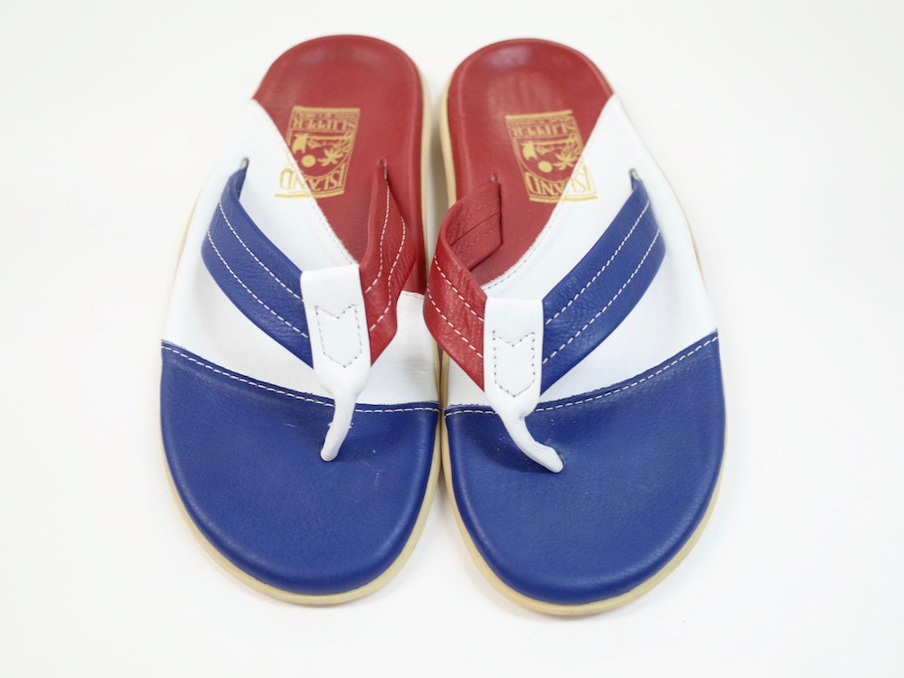 ISLAND SLIPPER レザー トングサンダル MADE IN HAWAII USED