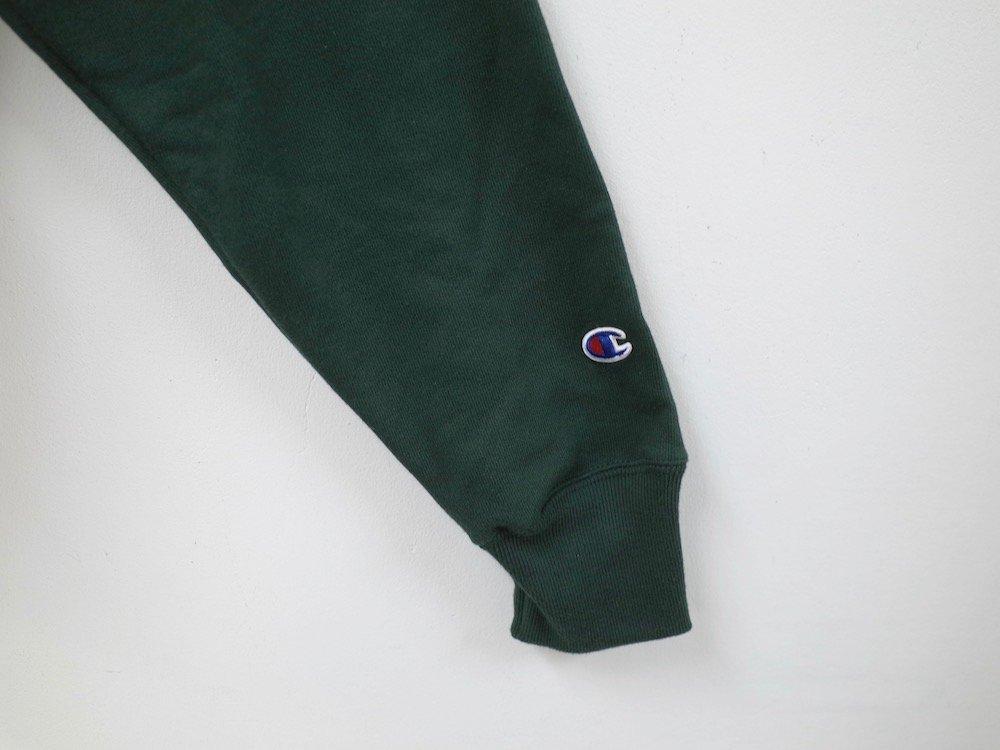 海外限定 Champion 12oz Premium Reverse Weave リバースウィーブパーカ d.green