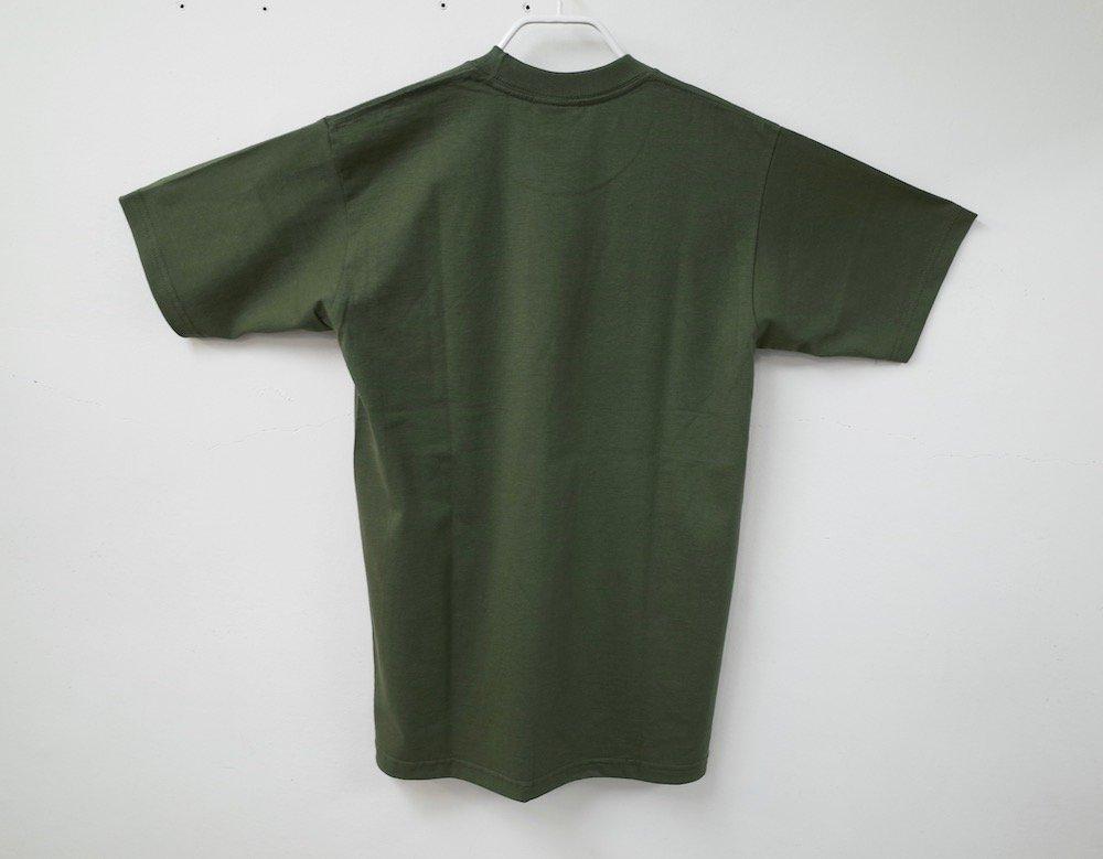 PRO CLUB  6.4オンス ヘビーウェイトコットン Tシャツ olive