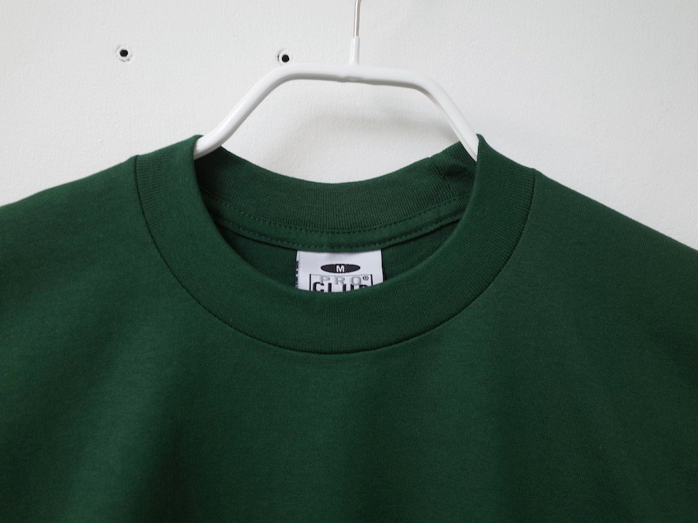 PRO CLUB  6.4オンス ヘビーウェイトコットン Tシャツ fg
