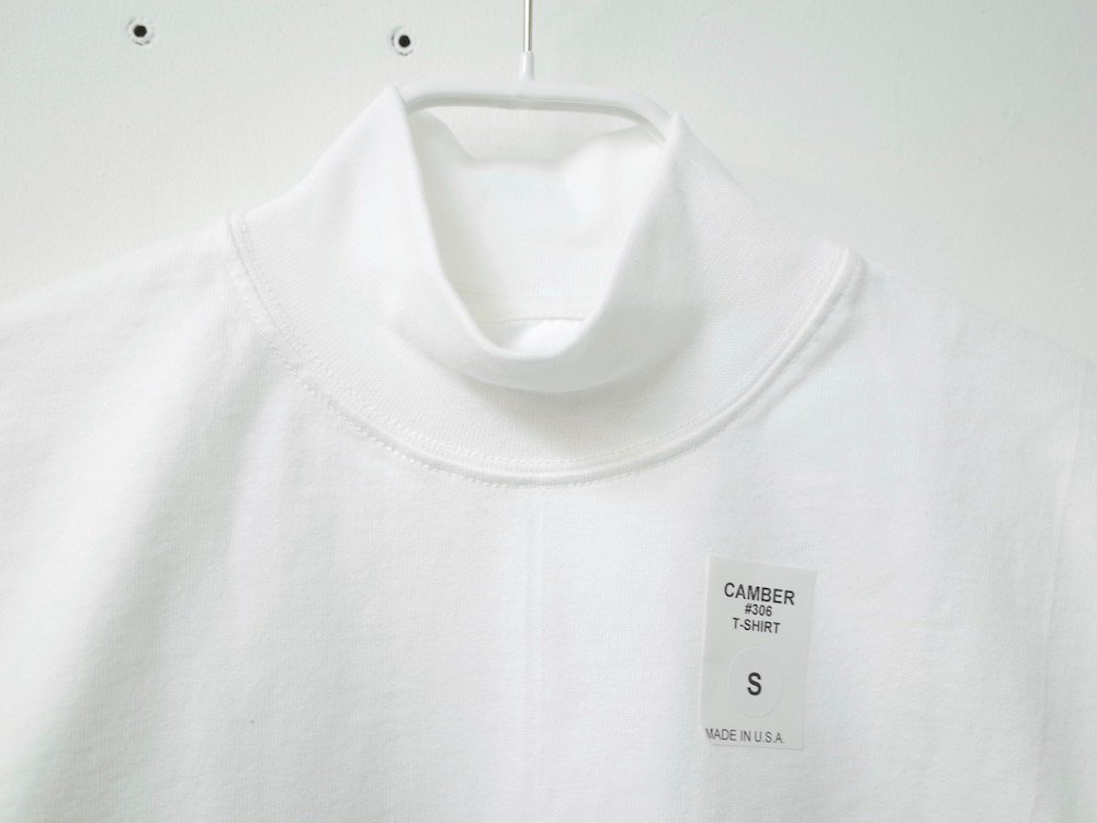 CAMBER   8oz. Max Weight MOCK NECK L/S Tシャツ USA製