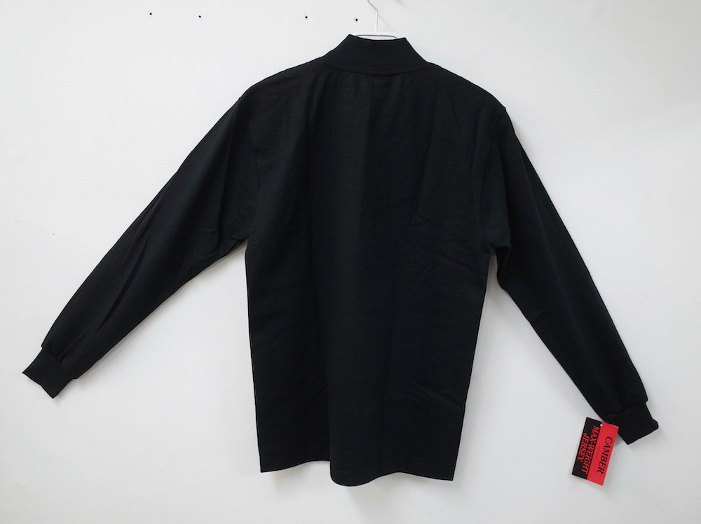 CAMBER   8oz. Max Weight MOCK NECK L/S Tシャツ USA製 black