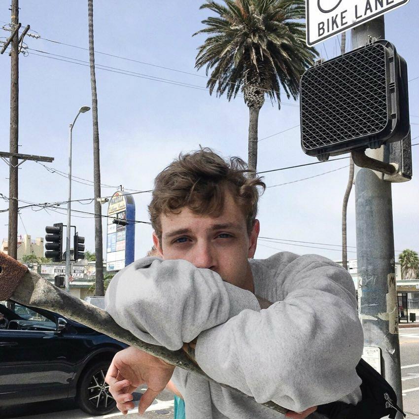 LOS ANGELES APPAREL  14オンス  クルーネックスウェット USA製 black