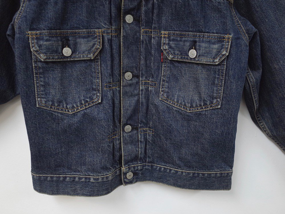 <img class='new_mark_img1' src='//img.shop-pro.jp/img/new/icons15.gif' style='border:none;display:inline;margin:0px;padding:0px;width:auto;' />LEVI'S VINTAGE CLOTHING リーバイス ヴィンテージ  71507XX セカンドモデル デニムジャケット  40 MADE IN JAPAN USED