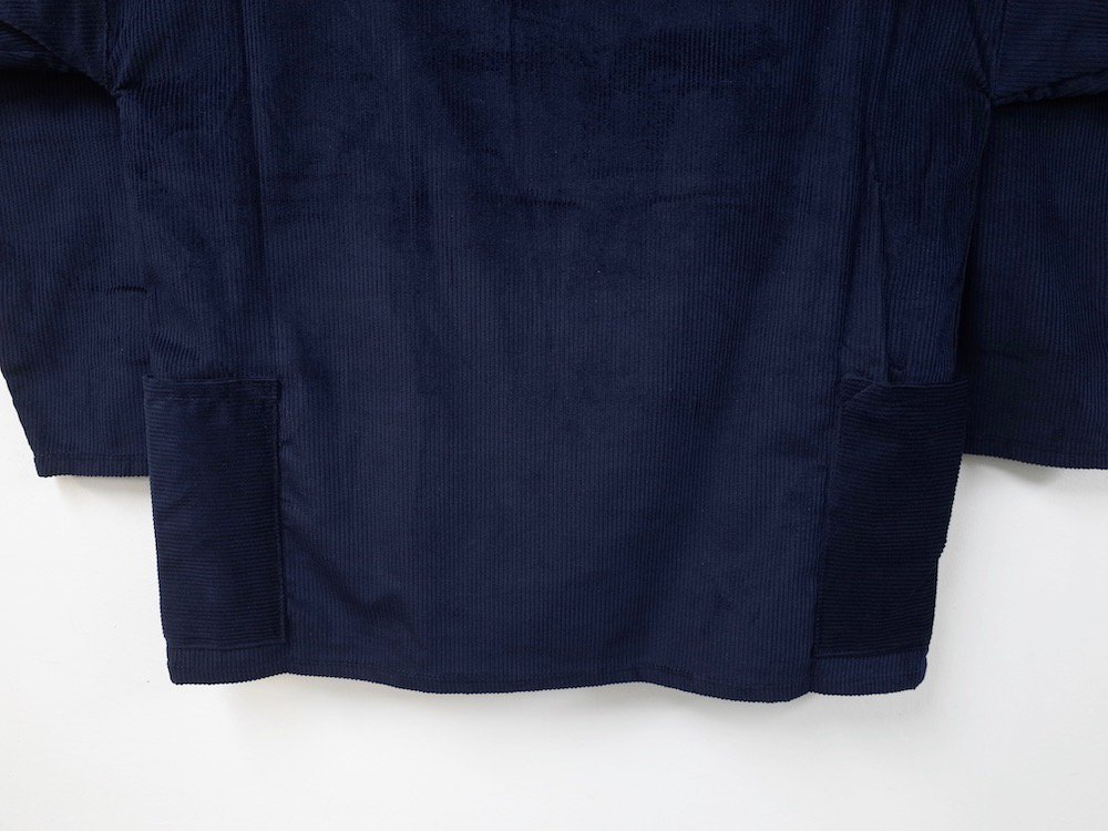 Newlyn Smocks CORDUROY ROUND NECK SMOCK MADE IN UK