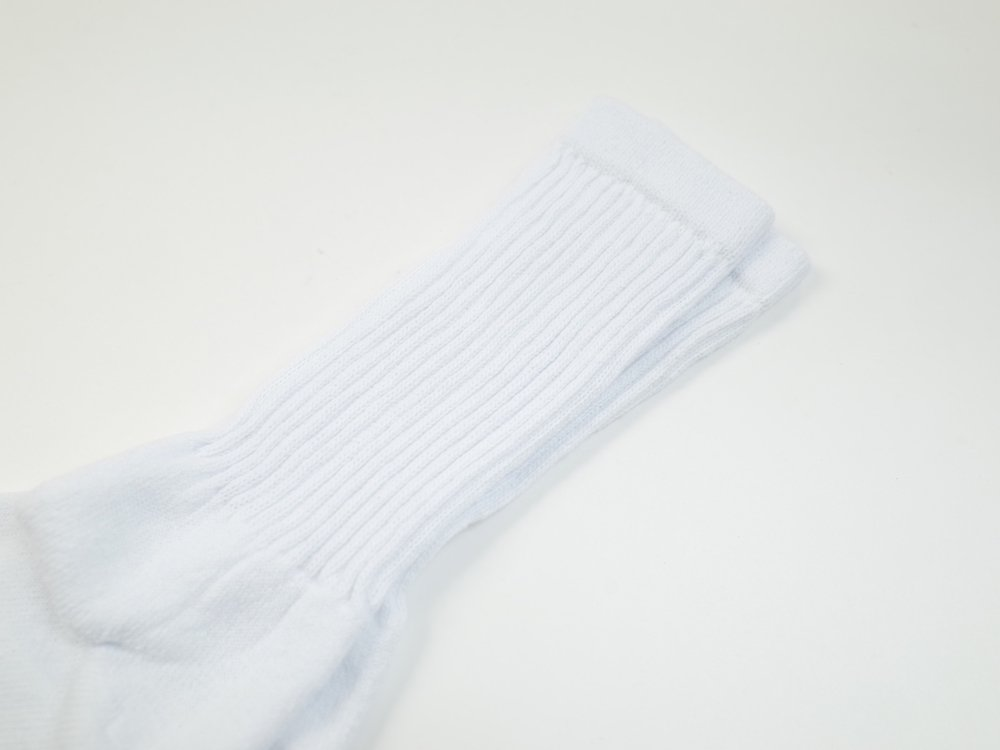 RAILROAD SOCK チューブソックス white MADE IN USA