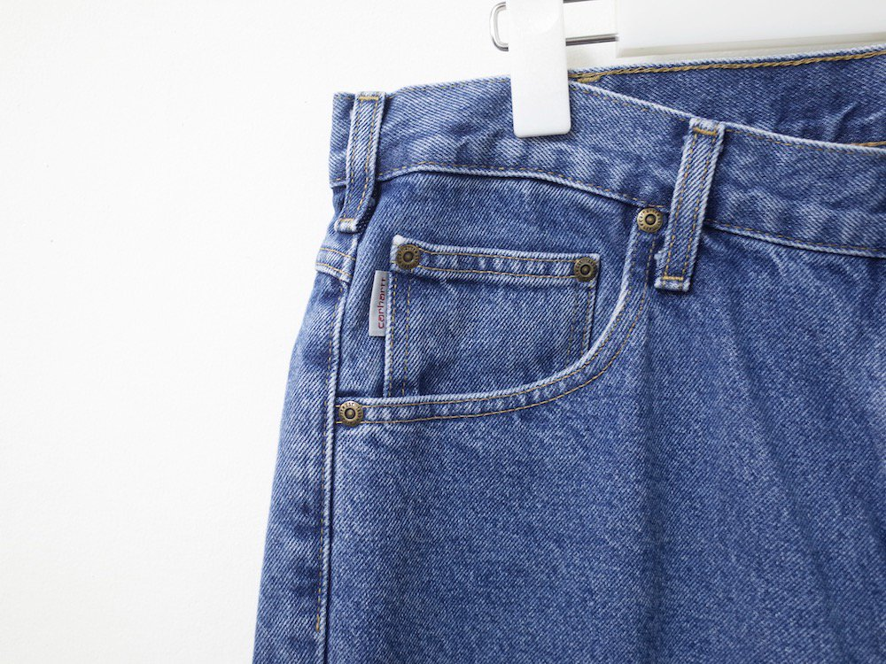 <img class='new_mark_img1' src='//img.shop-pro.jp/img/new/icons15.gif' style='border:none;display:inline;margin:0px;padding:0px;width:auto;' />Vintage 90s CARHARTT カーハート デニムパンツ USED