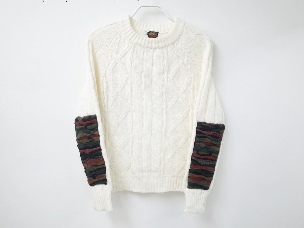SOTA JAPAN × SEW UP REMAKE COOGI  SWEATER