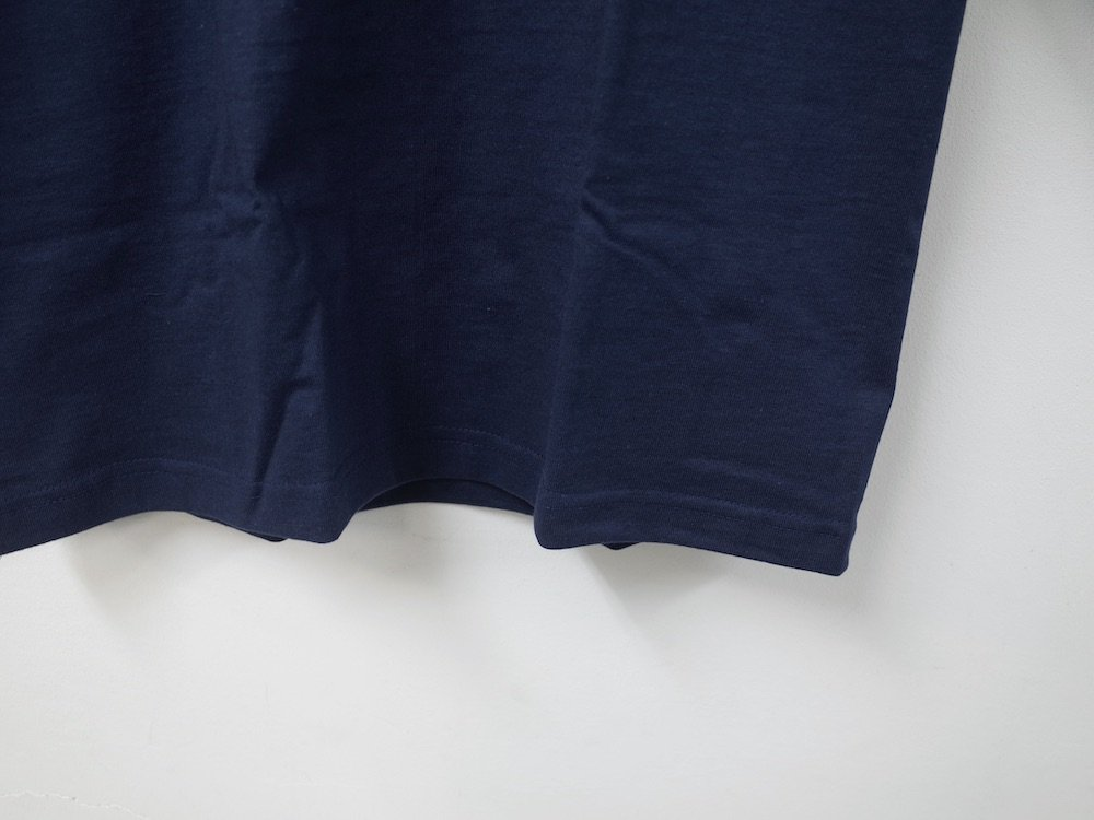 CAMBER   8oz. Max Weight MOCK NECK L/S Tシャツ USA製 navy
