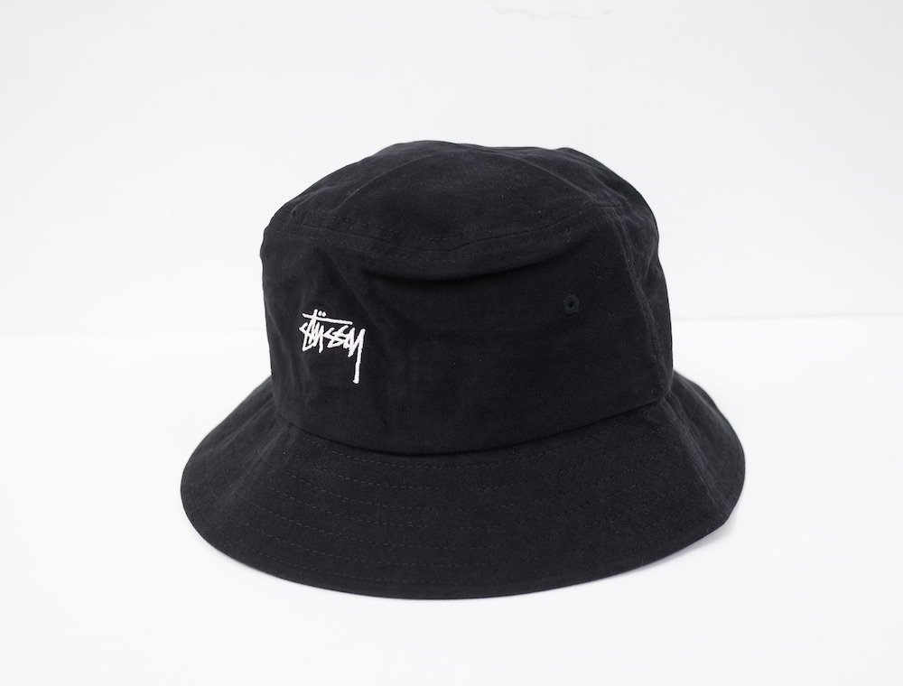 Stussy ロゴ バケットハット