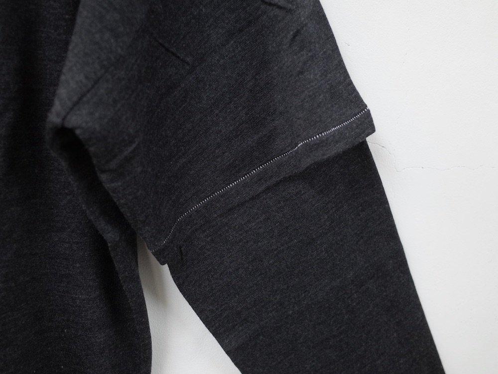 THEE merino wool double sleeve knit MW-KT-02