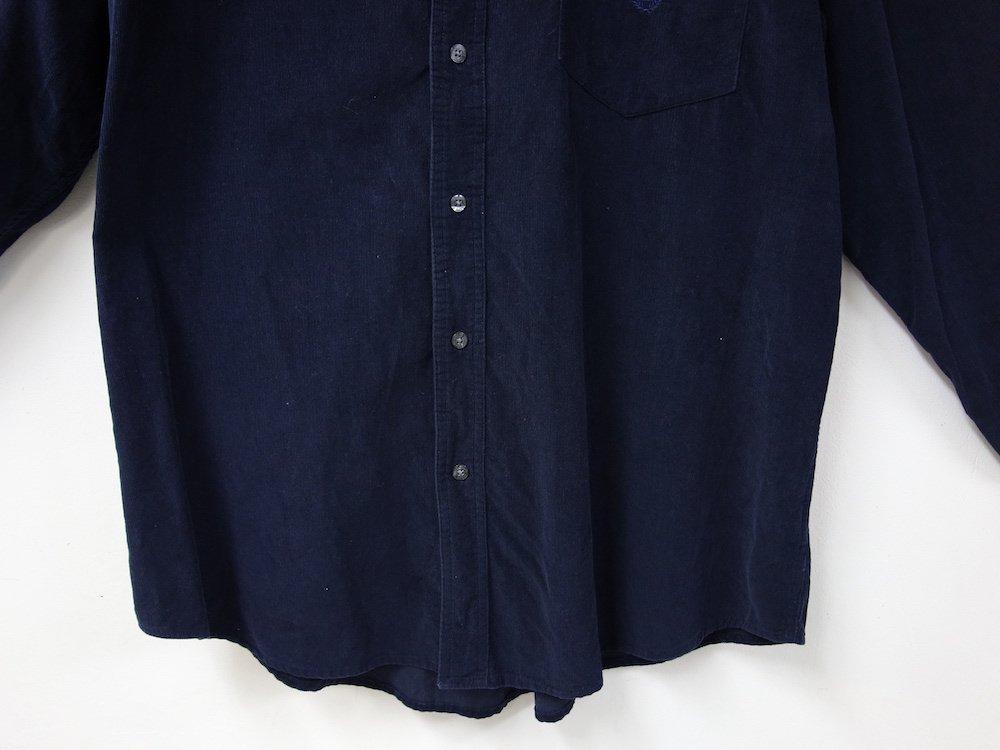 CHAPS RALPH LAUREN BD ワンポイント コーデュロイシャツ USED