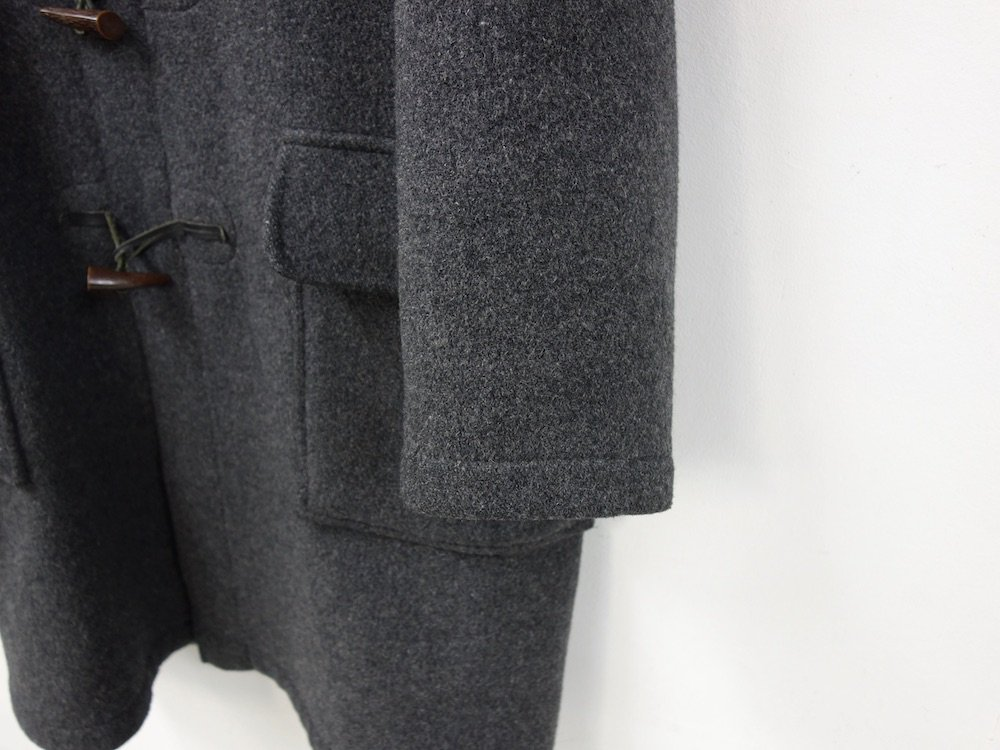 Gloverall グローバーオール ダッフルコート grey MADE IN ENGLAND USED