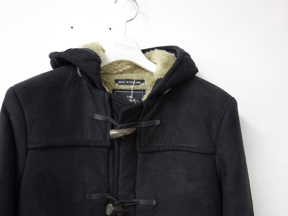 Gloverall グローバーオール ムートンダッフルコート  MADE IN ENGLAND USED