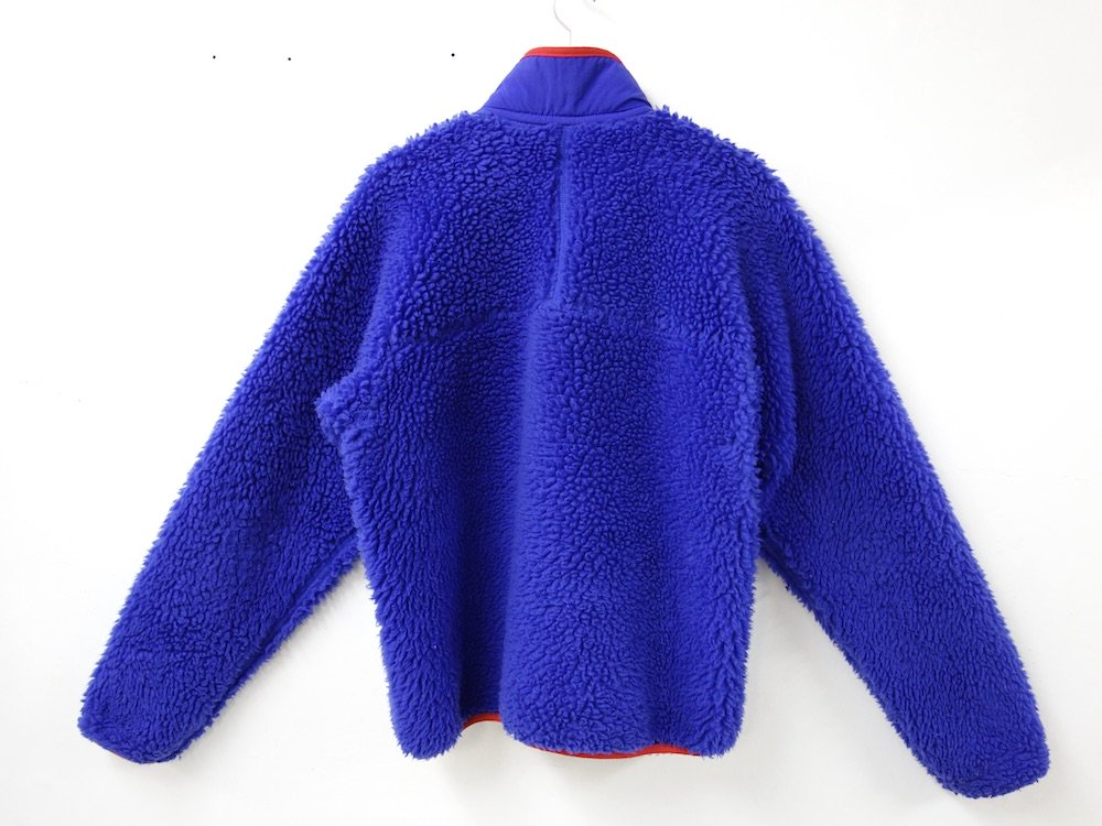 00's patagonia パタゴニア  CLASSIC RETRO CARDIGAN  blue MADE IN USA USED
