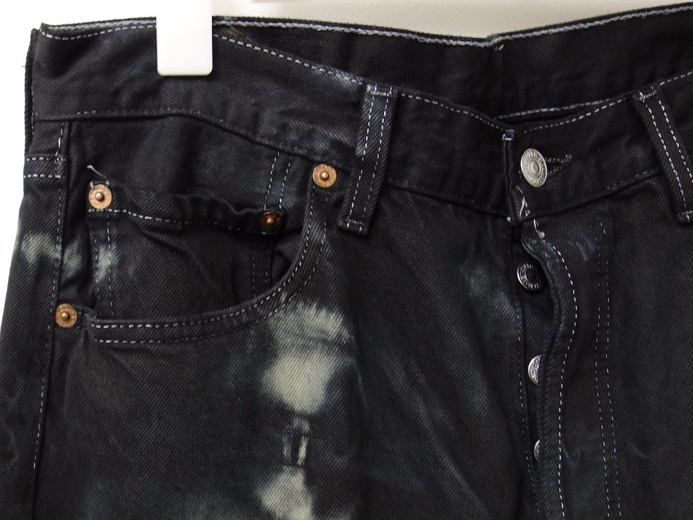 <img class='new_mark_img1' src='//img.shop-pro.jp/img/new/icons15.gif' style='border:none;display:inline;margin:0px;padding:0px;width:auto;' />VINTAGE 90s Levi's  リーバイス 501  タイダイ染め デニムパンツ USA製