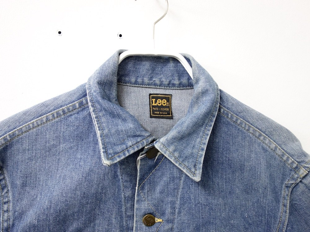 VINTAGE  80's  Lee 101-J デニムジャケット   MADE IN USA USED