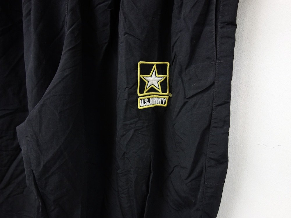 U.S.ARMY  APFUトレーニングパンツ black USED