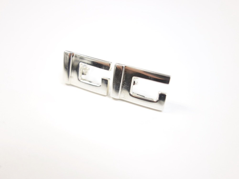 GUCCI グッチ Gロゴピアス silver925  MADE IN ITALY  USED