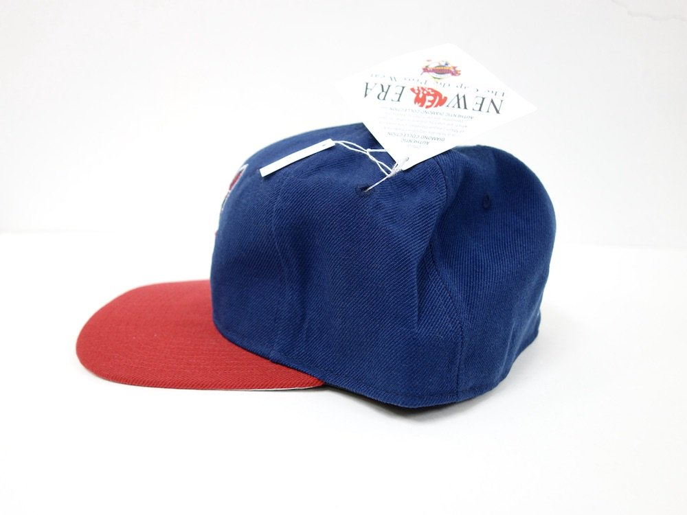 <img class='new_mark_img1' src='//img.shop-pro.jp/img/new/icons15.gif' style='border:none;display:inline;margin:0px;padding:0px;width:auto;' />Vintage 90s Cleveland Indians New Era Diamond Collection MLB Fitted