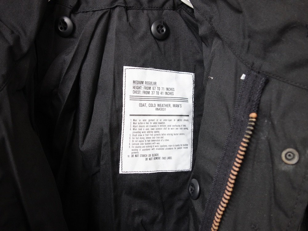 Vintage 60-70s 民間物 US ARMY M-65 フィールドジャケット DEAD STOCK