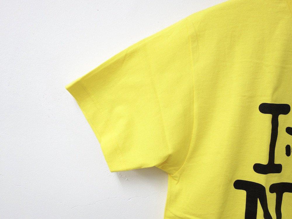 IRAK  NY Tシャツ yellow