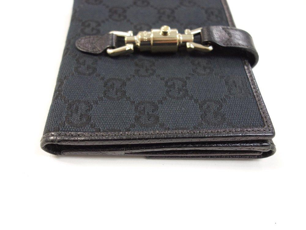 GUCCI グッチ ジャッキー 二つ折り財布 イタリア製 USED