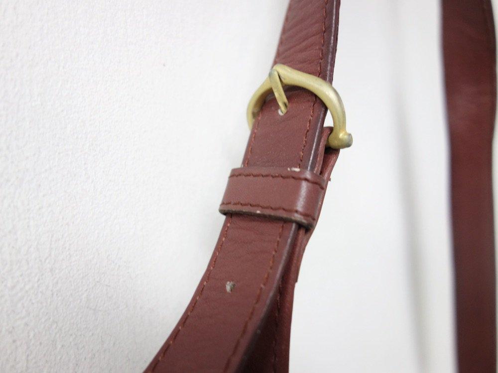 Cartier カルティエ マストライン スエード レザー ショルダーバッグ USED
