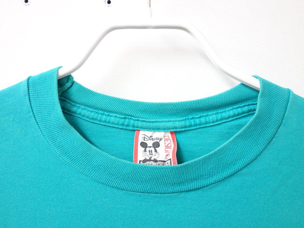 Disney オフィシャル Tシャツ #7 USED
