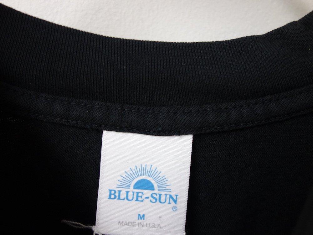 BLUE-SUN Hidden Fortress S/S Tシャツ USA製 black