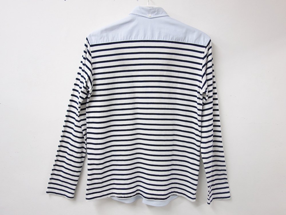 COMME des GARCONS HOMME  ドッキングシャツ AD2010 日本製 USED