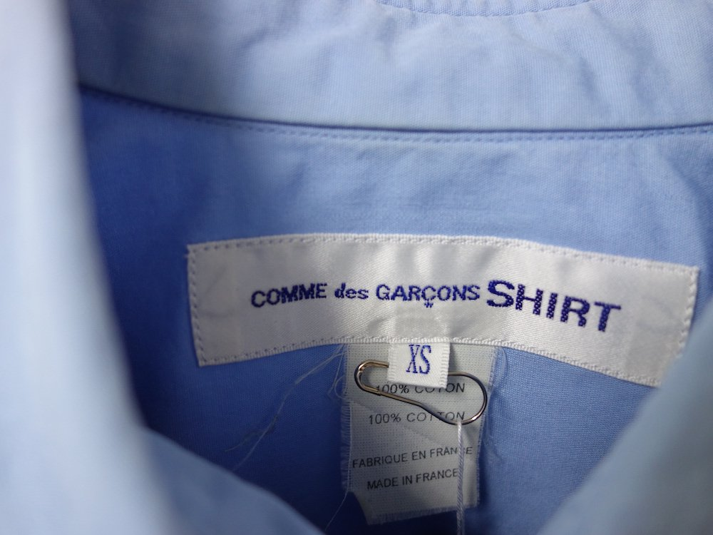 <img class='new_mark_img1' src='https://img.shop-pro.jp/img/new/icons15.gif' style='border:none;display:inline;margin:0px;padding:0px;width:auto;' />COMME des GARCONS SHIRT  切り返しシャツ フランス製 USED