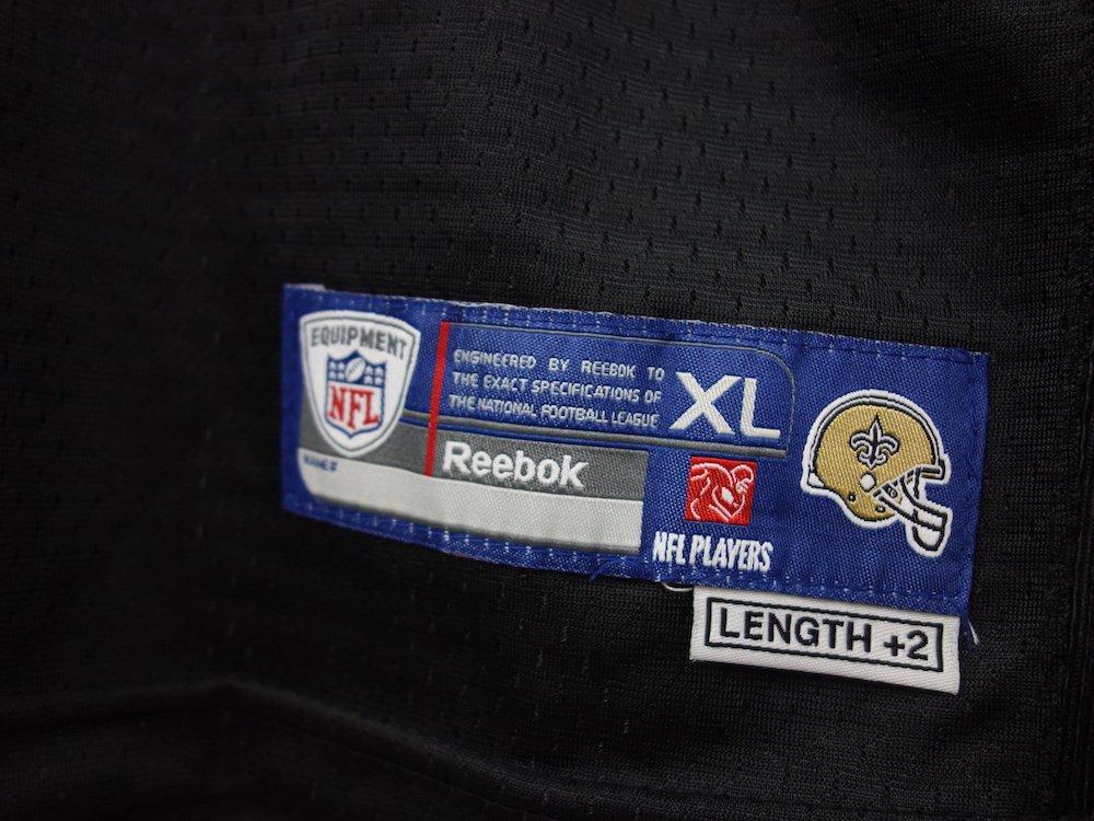 REEBOK NFL New Orleans Saints フットボールジャージー USED
