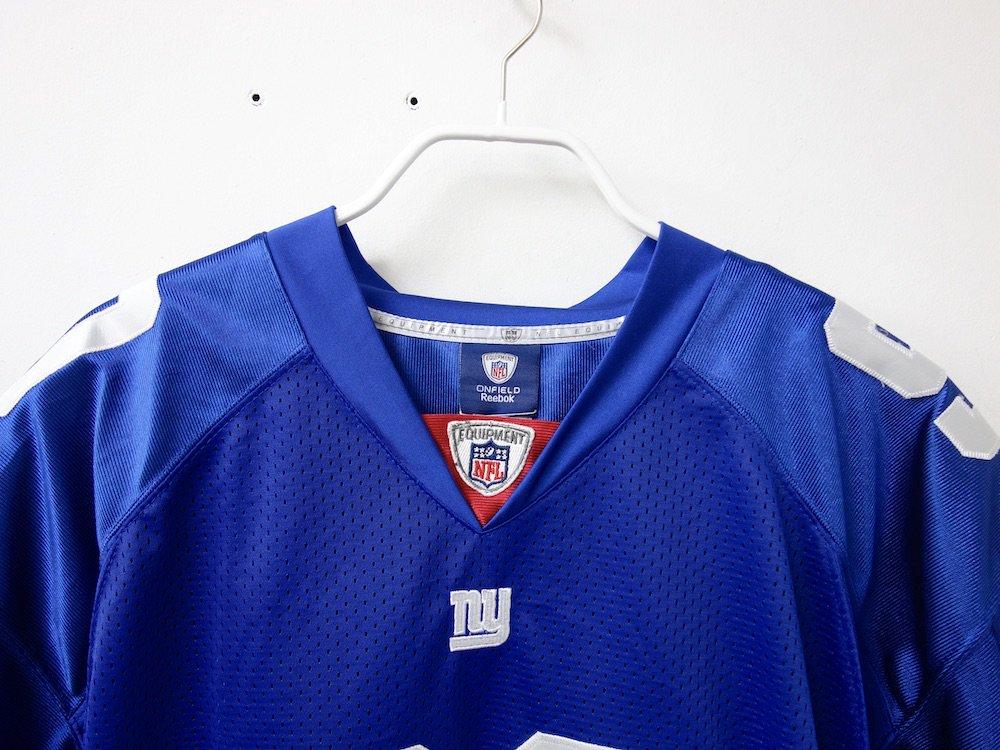 REEBOK NFL New York Giants  フットボールジャージー USED