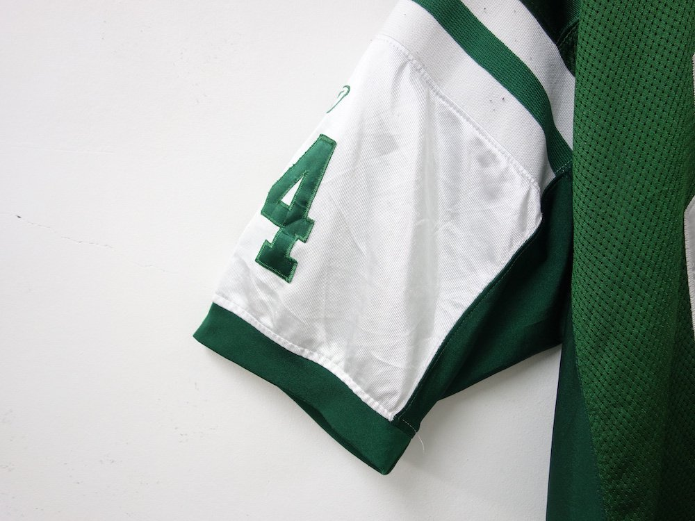 <img class='new_mark_img1' src='https://img.shop-pro.jp/img/new/icons15.gif' style='border:none;display:inline;margin:0px;padding:0px;width:auto;' />REEBOK NFL New York Jets  フットボールジャージー USED