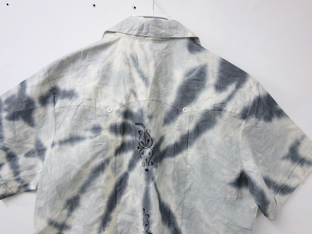 CUBA SHIRT  タイダイ染め オープンカラー 刺繍 シャツ #2