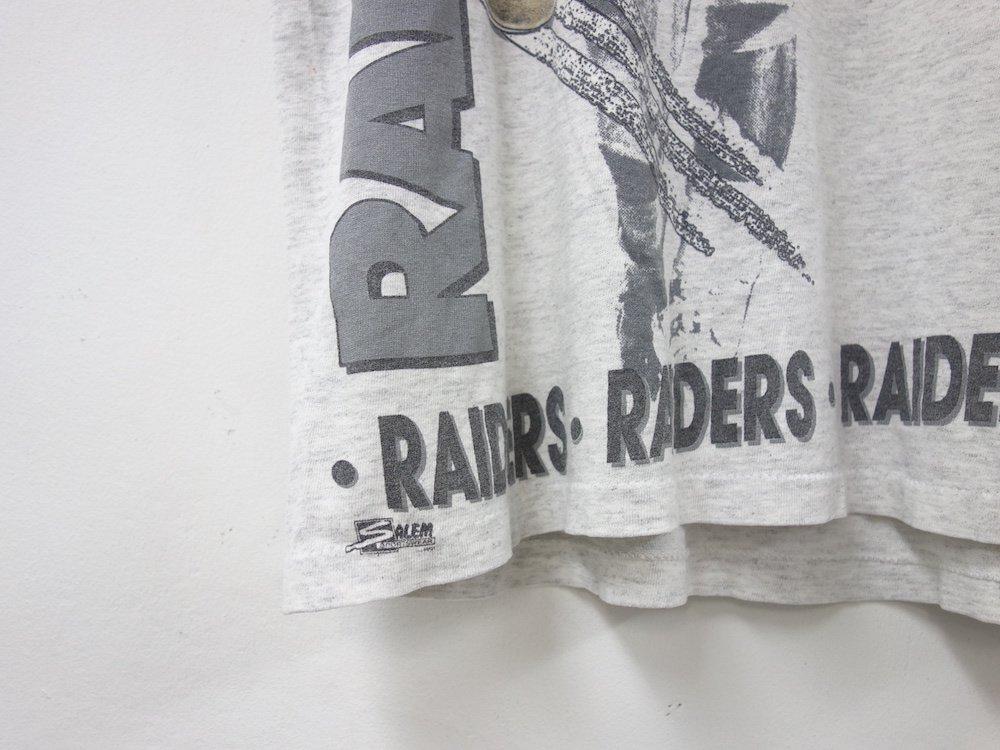 NFL Las Vegas Raiders フットボールTシャツ USA製 USED