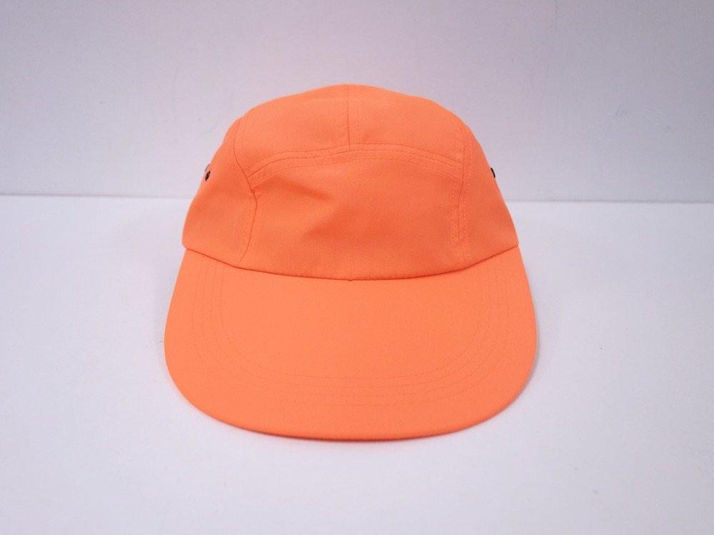 geek Nylon Long Bill Cap orange