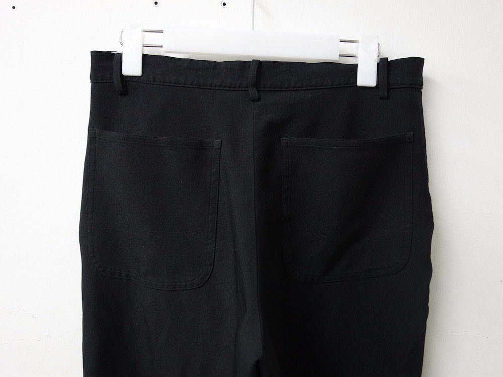 BLACK COMME des GARCONS クロップドパンツ  MADE IN JAPAN USED