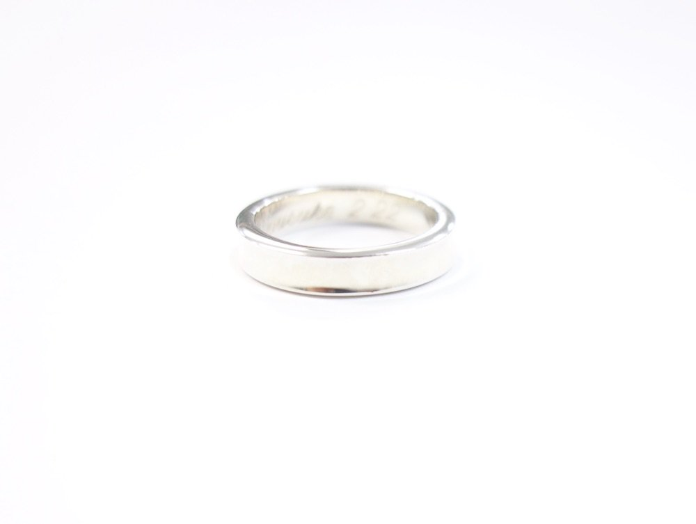 Tiffany & Co  ティファニー  1837 リング 指輪  silver925 8号 #1 USED