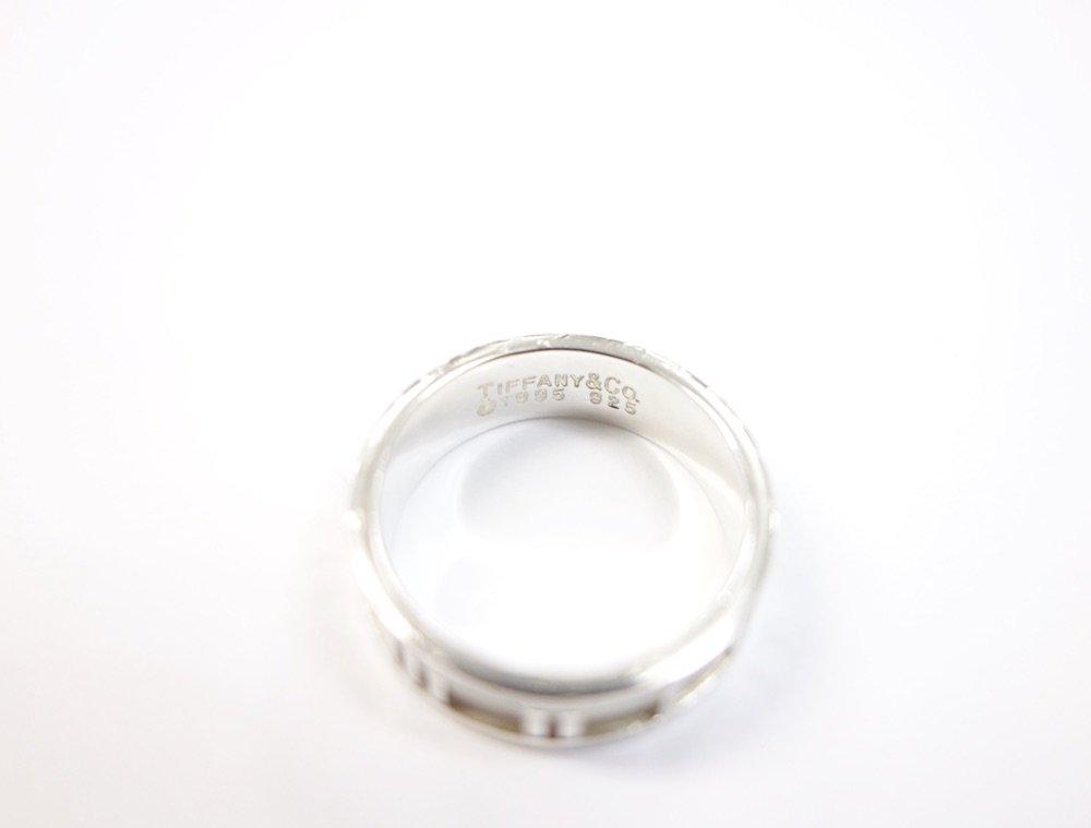Tiffany & Co  ティファニー  アトラス リング silver925  13号 #5 USED