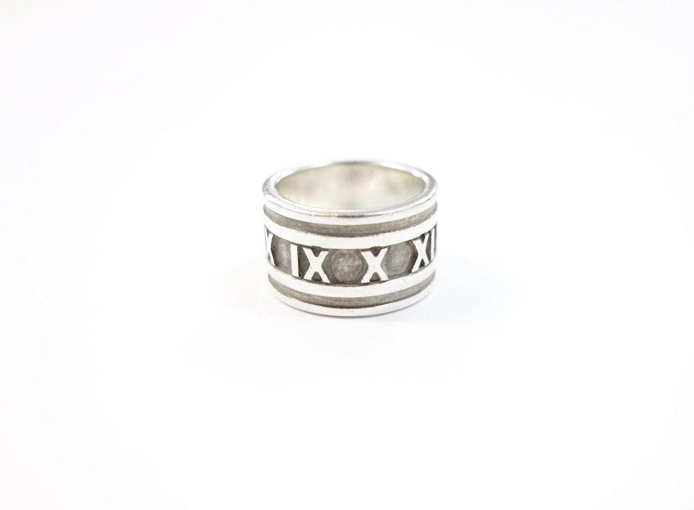 Tiffany & Co  ティファニー  アトラス リング silver925  9号 #11 USED