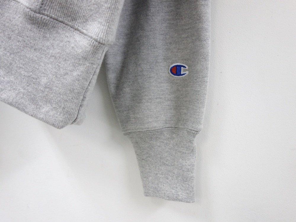 海外限定 Champion 12oz Premium Reverse Weave リバースウィーブパーカ oxford grey