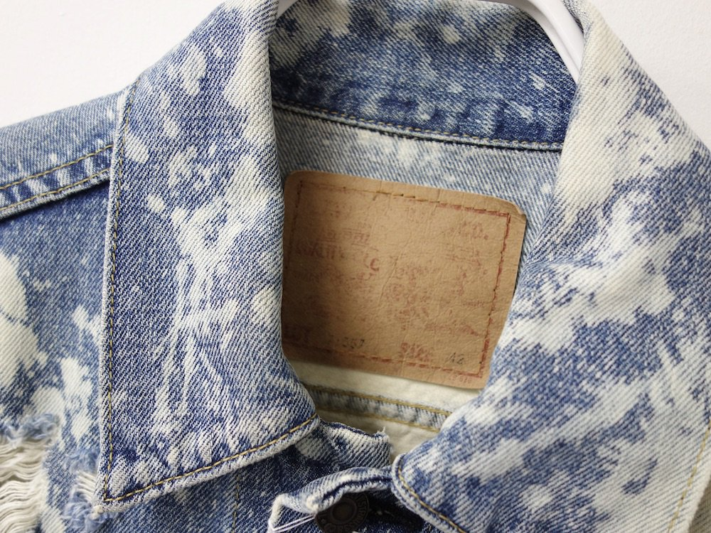 <img class='new_mark_img1' src='https://img.shop-pro.jp/img/new/icons15.gif' style='border:none;display:inline;margin:0px;padding:0px;width:auto;' />LEVI'S VINTAGE CLOTHING リーバイス ヴィンテージ  71557 3rd デニムジャケット  MADE IN JAPAN USED