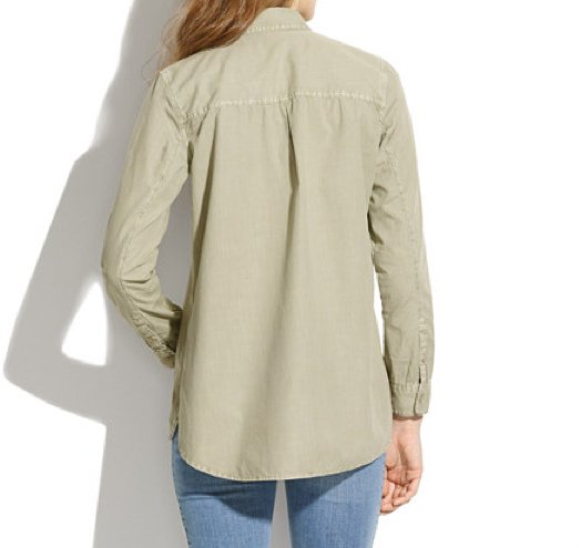<img class='new_mark_img1' src='//img.shop-pro.jp/img/new/icons20.gif' style='border:none;display:inline;margin:0px;padding:0px;width:auto;' />Madewell  Lightweight Tomboy Workshirt シャツ
