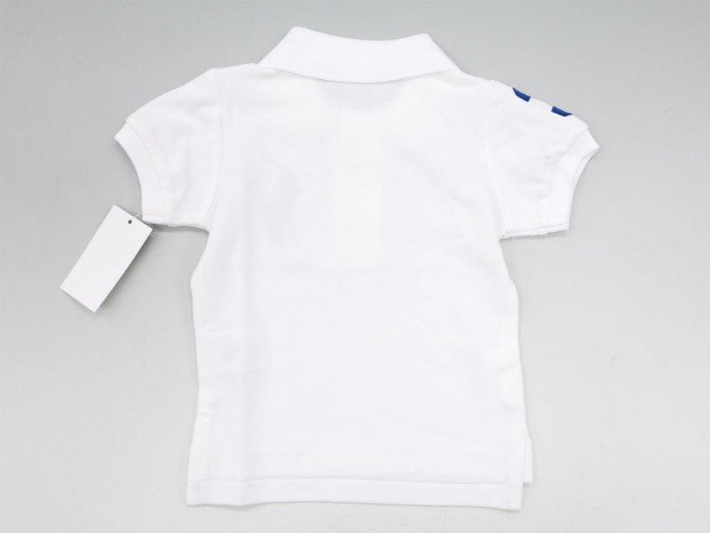 ラルフローレン ベビー ビッグポニーポロシャツ white