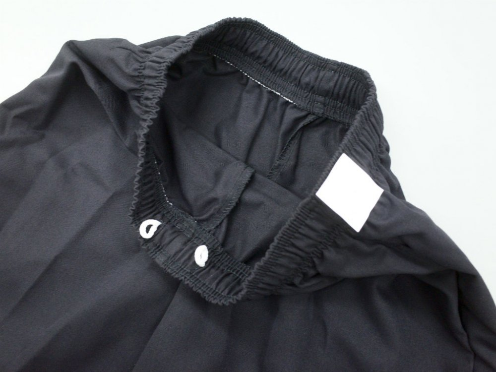 <img class='new_mark_img1' src='https://img.shop-pro.jp/img/new/icons15.gif' style='border:none;display:inline;margin:0px;padding:0px;width:auto;' />CHEF DESIGNS SPUN POLYESTER BAGGY PANT black ワークパンツ