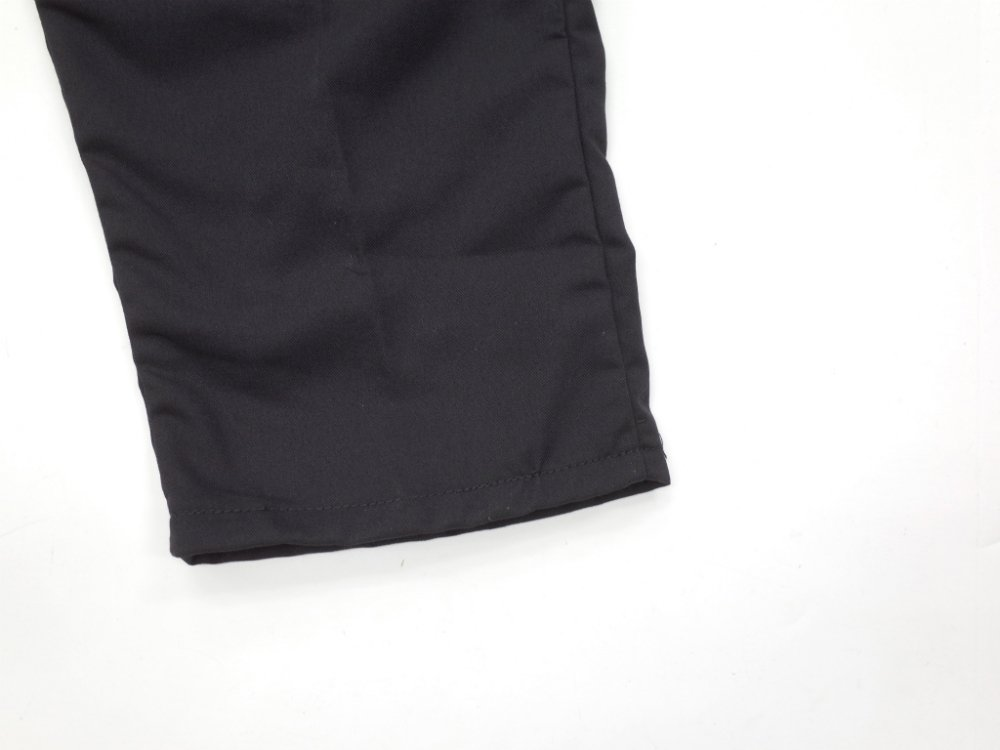 CHEF DESIGNS SPUN POLYESTER BAGGY PANT black ワークパンツ