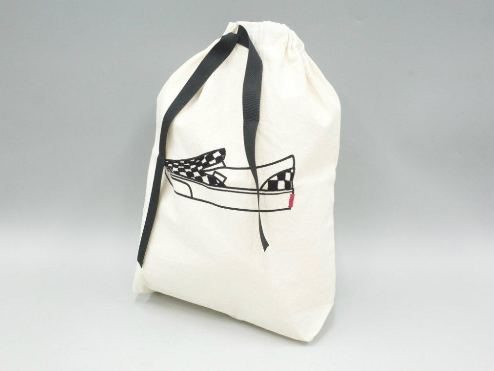 O.K. オーケー Masterpiece Kinchaku 刺繍 トートバッグ SLIP-ON